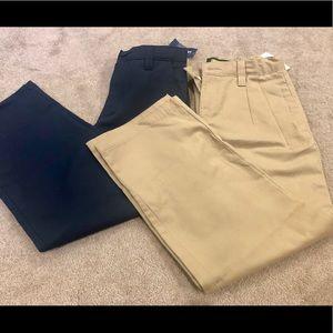 NWT! Boys size 8 khaki pants 2 for $12.00